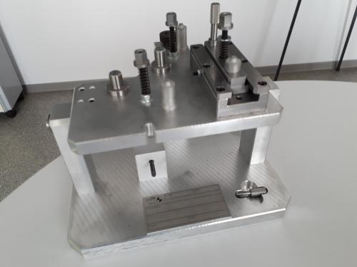 Posage de métrologie pour contrôle position d'électro vannes
